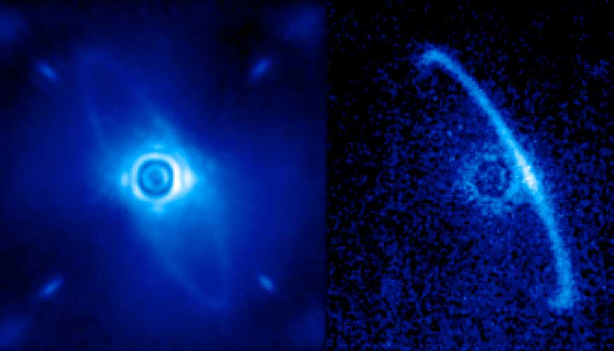 Out of this world first light images emerge from Gemini Planet Imager