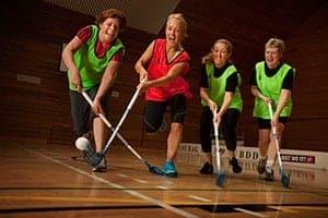 Team sport compensates for oestrogen loss