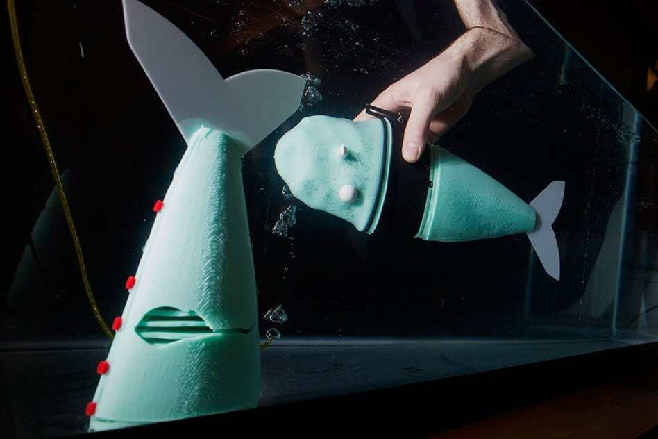 Soft robotic fish moves like the real thing