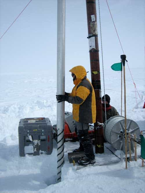 Greenland ice cores show industrial record of acid rain, success of U.S. Clean Air Act