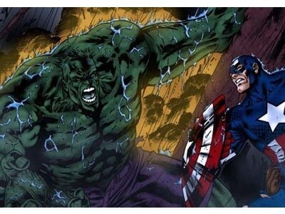Science of origin stories of Captain America and the Incredible Hulk
