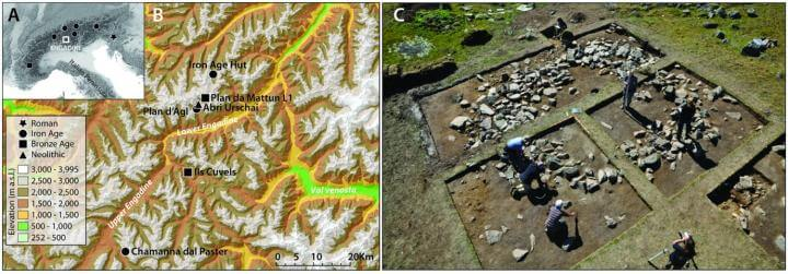 High alpine dairying may have begun over 3000 years ago