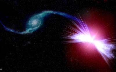Supermassive black holes in 'red geyser' galaxies cause galactic warming