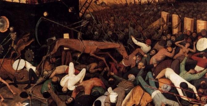 Triumph of death painting detail