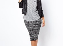 new look pencil skirt