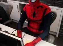 Spier-Man at work