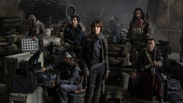Star Wars: Rogue One Cast - Photo Credit: Independent.co.uk