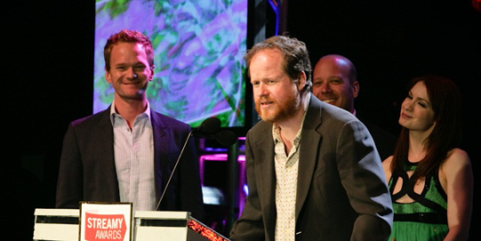 Joss Whedon streamy awards WIDE