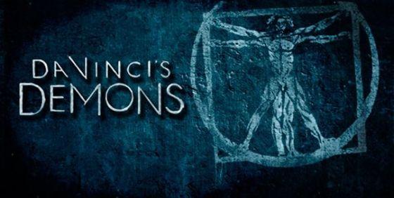 Da Vinci's Demons logo wide