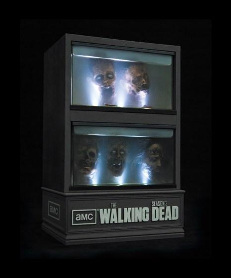 The Walking Dead s3 blu-ray ltd ed set