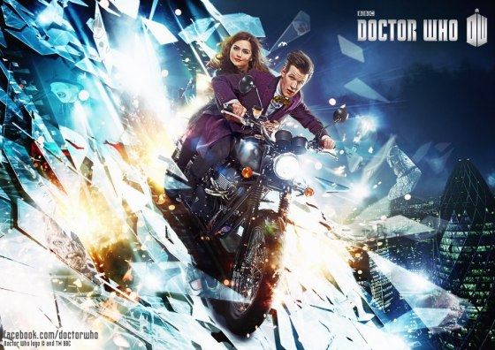 Doctor Who s7 Clara motorcycle