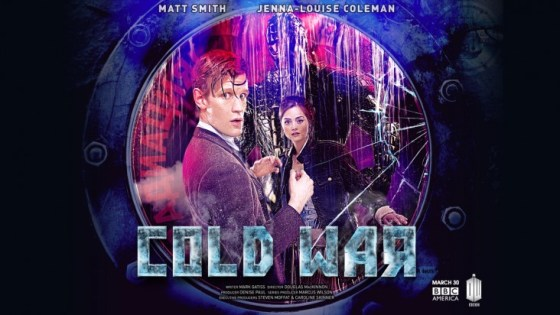 Doctor Who s7 pt2 Cold War poster