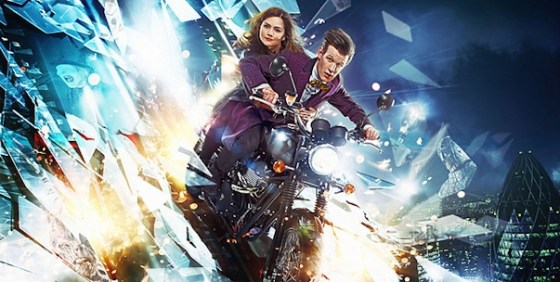 Doctor Who s7 pt2 promo motorcycle wide