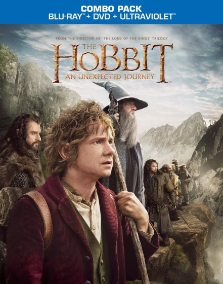 Hobbit AUJ BD DVD combo no 3d cover