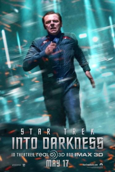 Star Trek ID Scotty poster