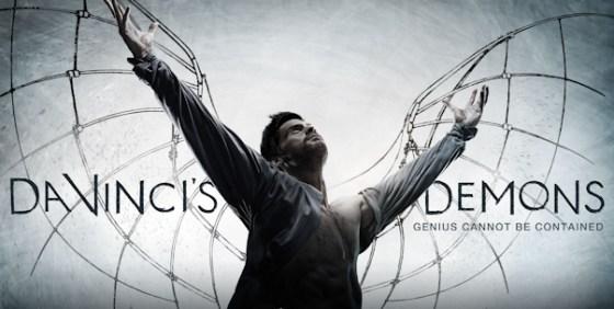 Da Vincis Demons logo wings wide