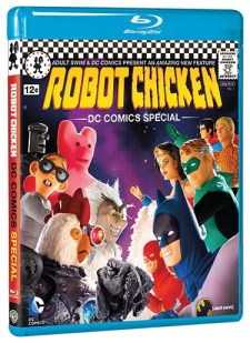 Robot Chicken DC Comics Special BRD cover