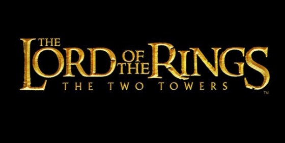 The Lord of the Rings TTT logo wide