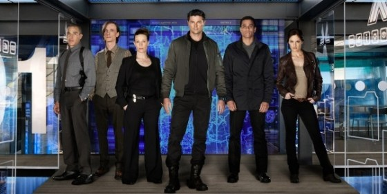 Almost Human cast promo wide