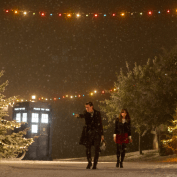Doctor Who TOTD BBCA 01 Doctor Clara snow