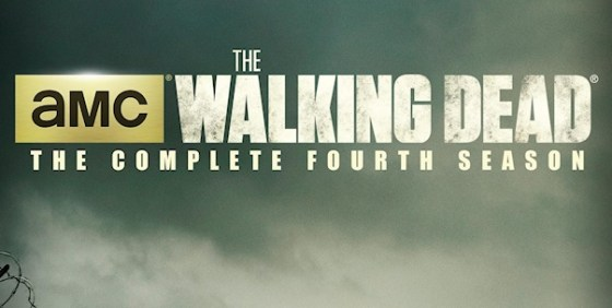 the walking dead S4 dvd cover wide