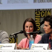 SDCC 2014 Maze Runner 04 cast laughing