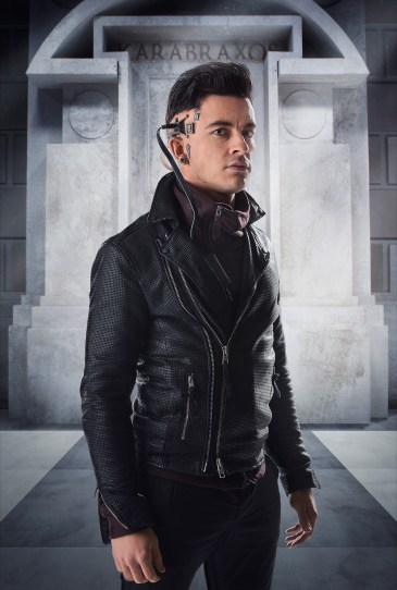 Picture shows: Jonathan Bailey as Psi