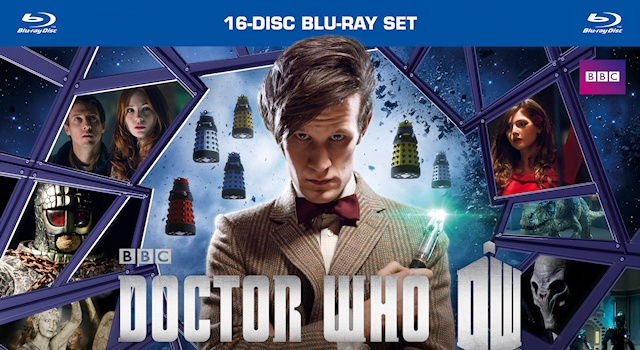 Doctor Who Matt Smith Collection wide1