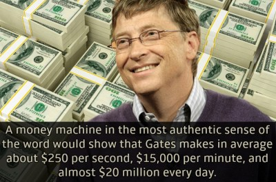 Interesting facts about Bill Gates (part 2)