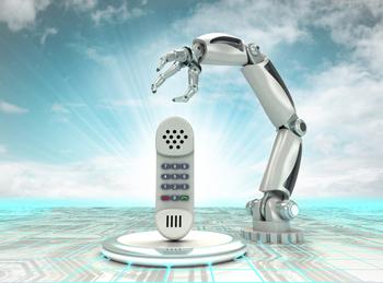Robot phoneWEB