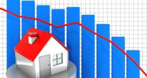 real estate values decline