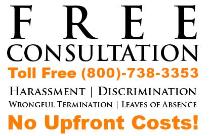 Harassment, Discrimination, Wrongful Termination Consultation Free