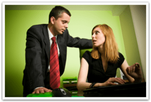 sexual harassment or sexual advances at work