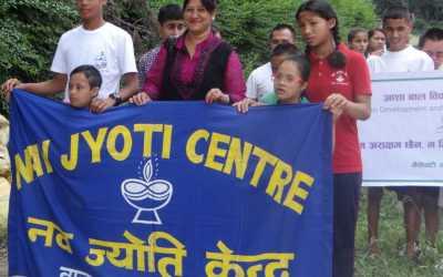 Navjyoti Center students win bocce competition