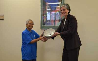 Sister Margaret honored for 20 years of service at Spalding University