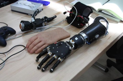 The Navy has developed an incredibly realistic prosthetic limb.