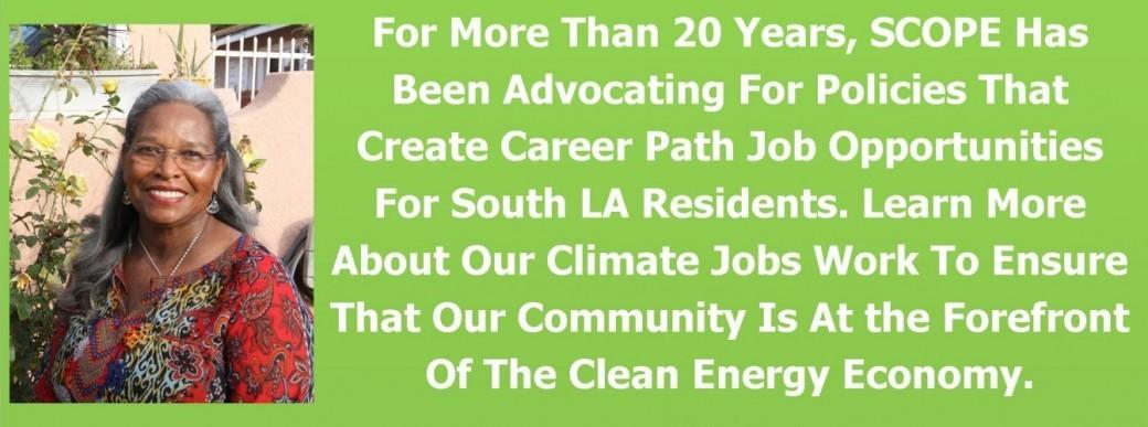 climate jobs slider