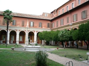 Cloister at the 'Angelicum'