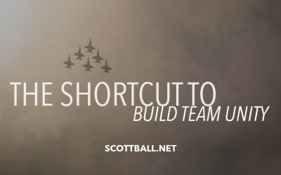 The Shortcut to Build Team Unity