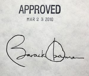 Obama-Obamacare-Signature