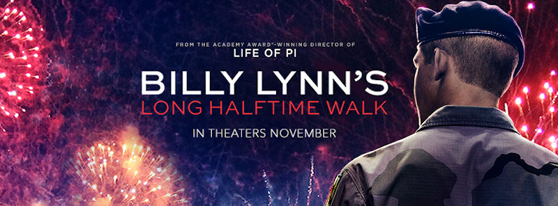 Movie review billy lynn 39 s long halftime walk scott holleran for Life of pi character development