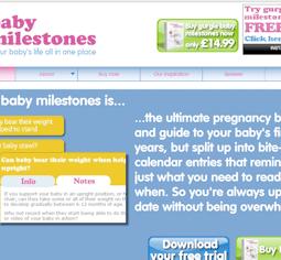 Gurgle Baby Milestones
