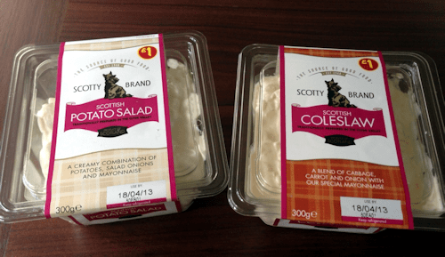 Coleslaw and Potato Salad 4