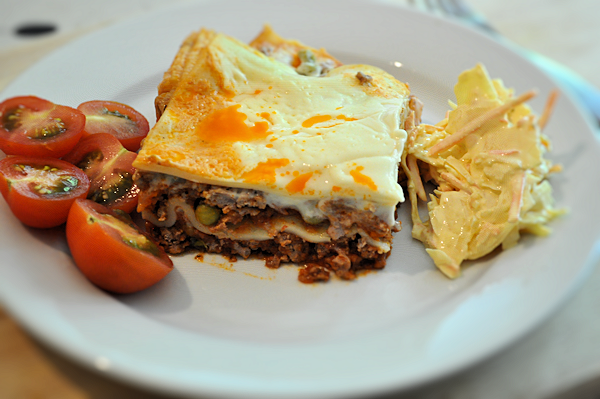 Quick and Easy Mince and Baby Sweetcorn Lasagne