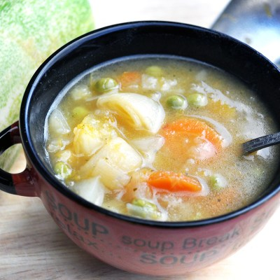 Operation Clear Out the Cupboards Soup Recipe
