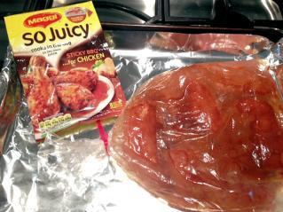 Sticky BBQ Chicken 2