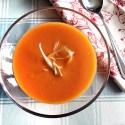 Soup Maker Recipe:  Cream of Sweet Potato and Tomato Soup