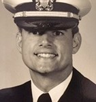 As a young Lieutenant in the US Navy