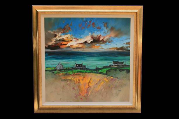 Framed Skye Crofts