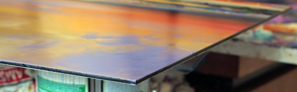 Aluminum Plate for Oil Painting